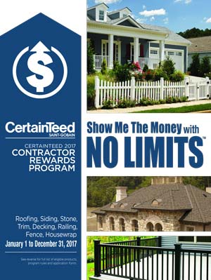 Certainteed No Limits Promotion