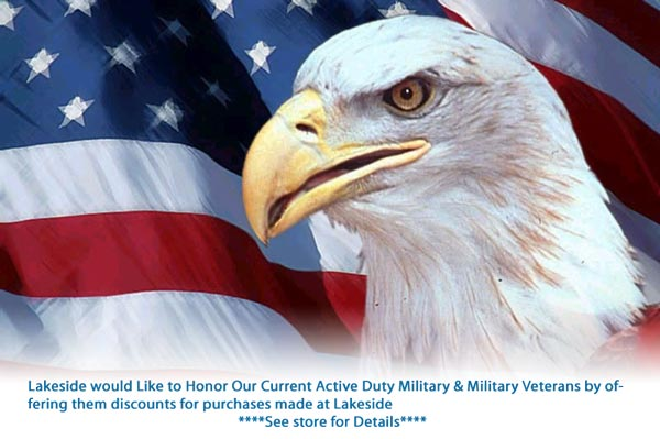 Lakeside Military Discount
