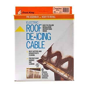 Frost King Roof De-Icing Cable
