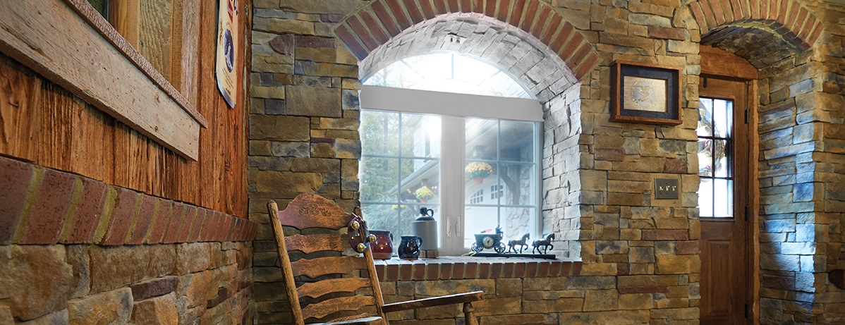 STONEFacade and arched window