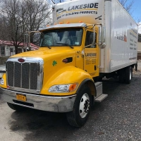 Hannibal Window Door & Millwork Delivery Truck