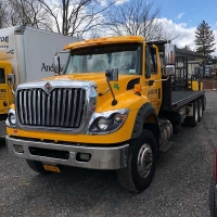 Hannibal Moffit All Terrain Forklift Delivery Truck