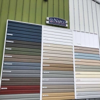 Hannibal Napco American Herald Vinyl Siding Outdoor Display