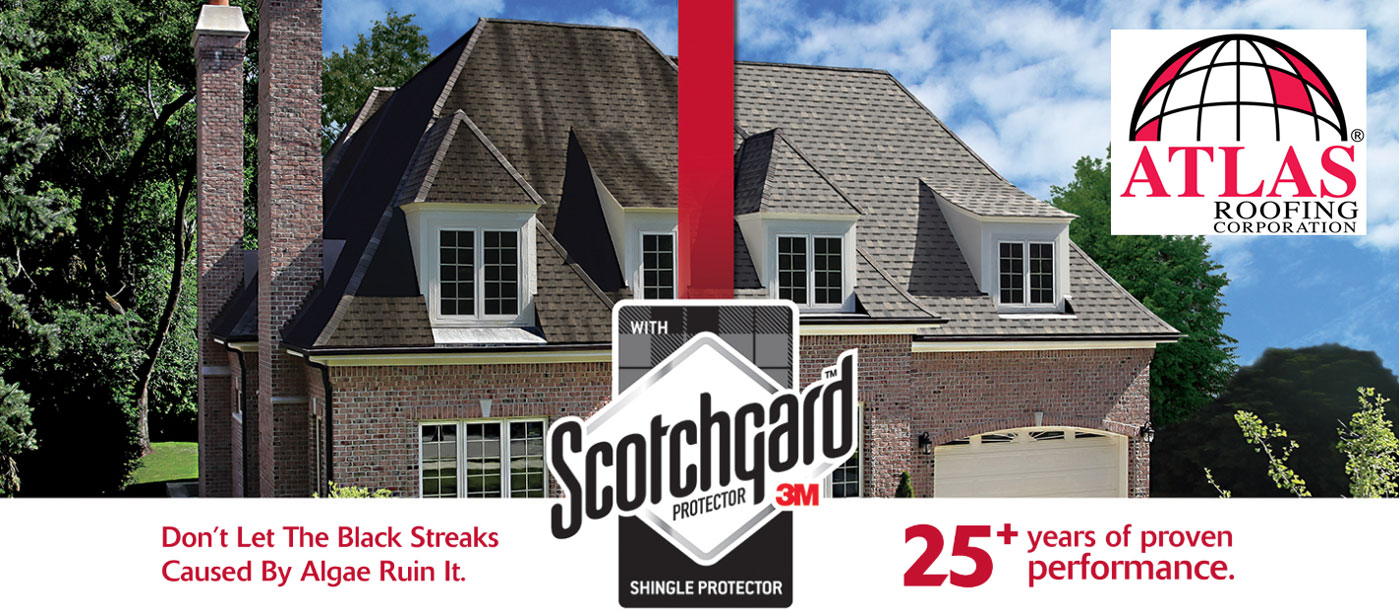 Atlas Roofing Corporation with Scotchgard