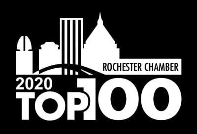 Rochester's Top 100 logo